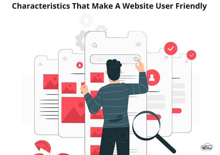 Web design user friendly characteristics